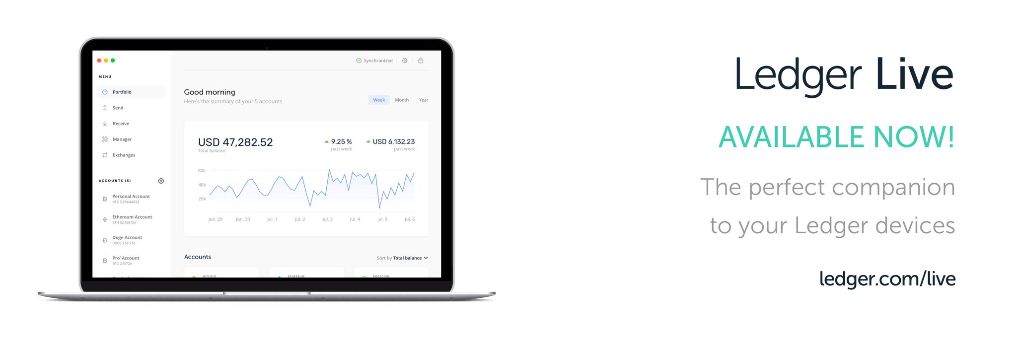 Ledger launches Ledger Live, the all-in-one companion app to your Ledger device