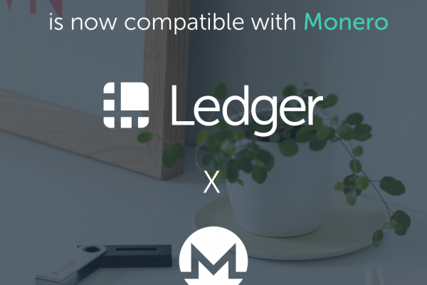 Ledger Nano S is now Compatible with the Latest Monero Wallet (Graphical User Interface)