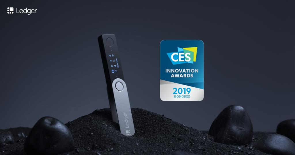 Ledger CES Award