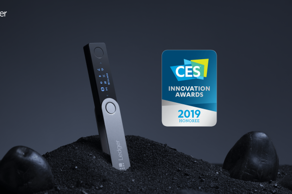 Ledger Nano X Wins CES 2019 Innovation – Honoree Award for Cybersecurity and Personal Privacy
