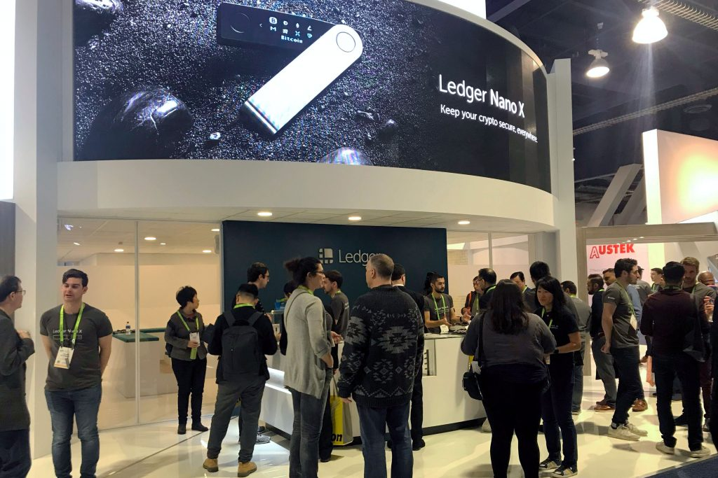 Ledger CES Booth