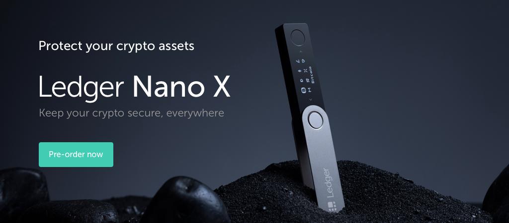 Pre-order Ledger Nano X