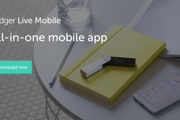 Ledger Goes Mobile – Ledger Live App Now Available for iOS and Android Smartphones.