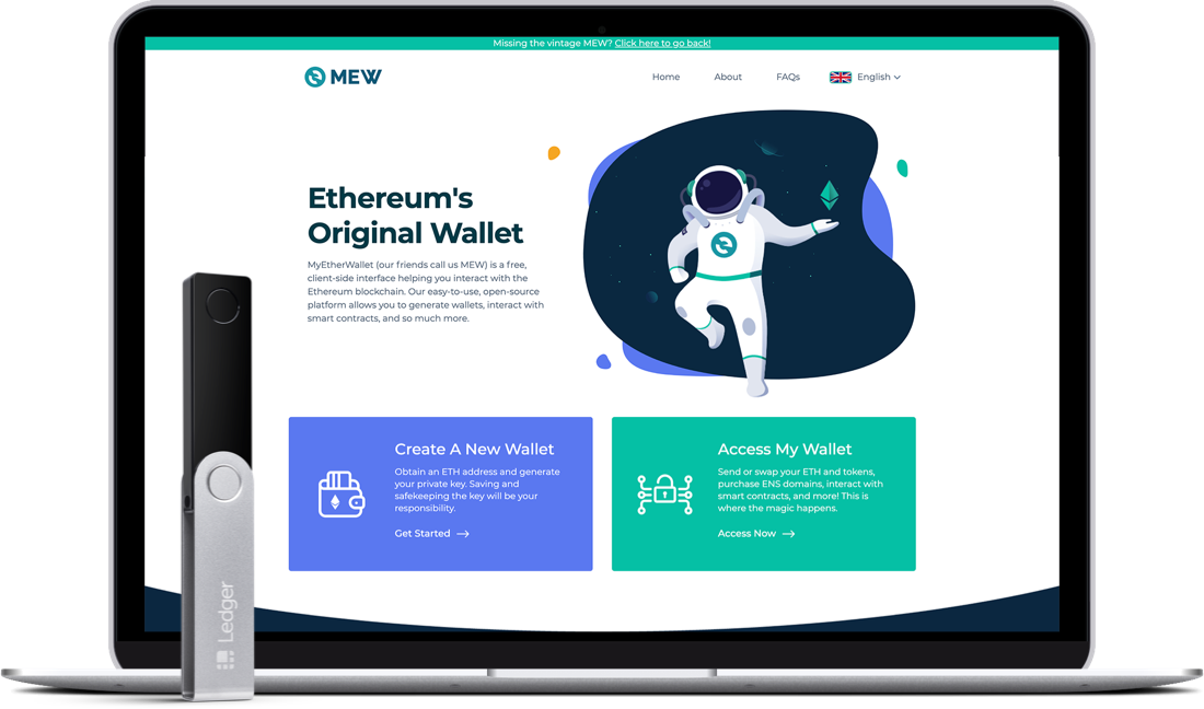 Mew Ethereum's original wallet