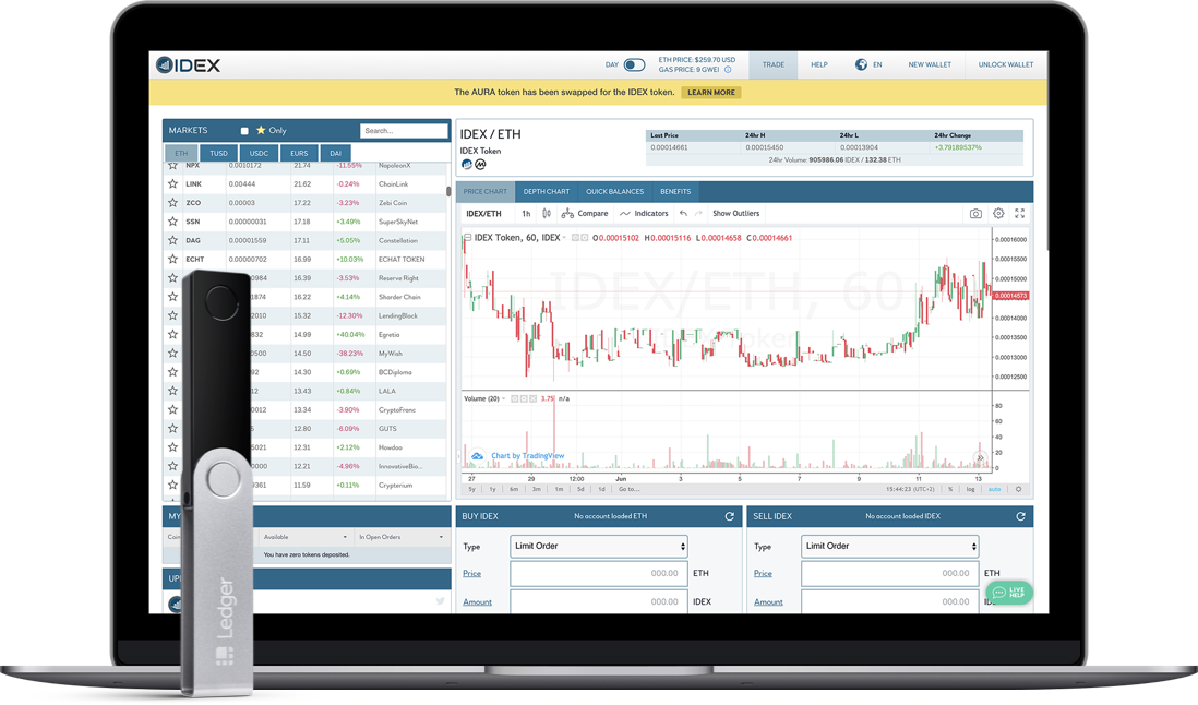 Idex interface