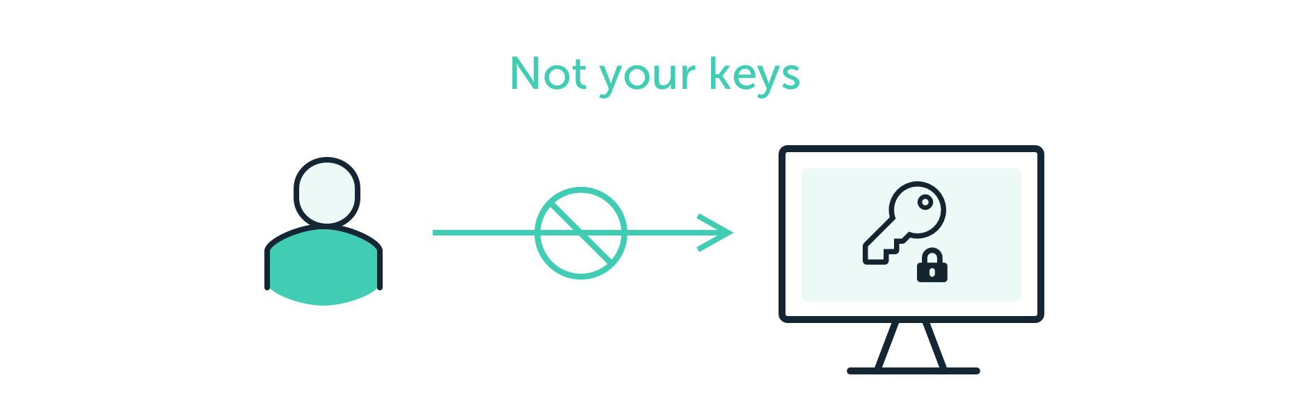 Not your keys, not your bitcoins