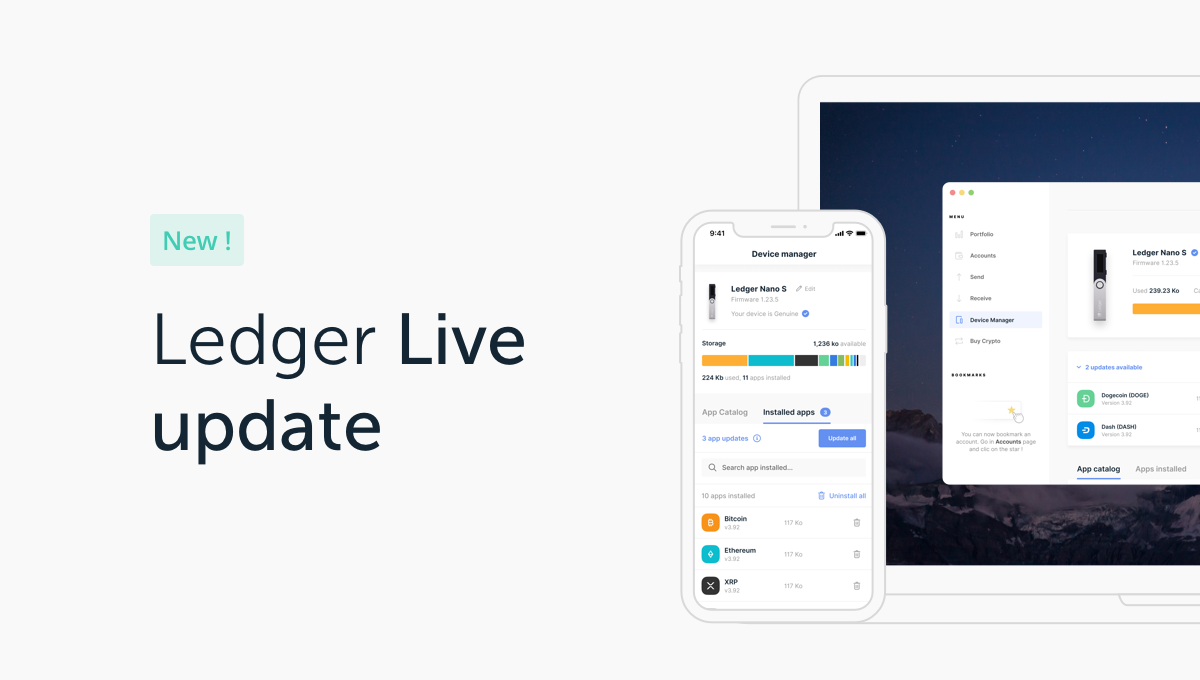 Enhancing Your Ledger Experience: Ledger Live Manager Version 2.0 is Now Available