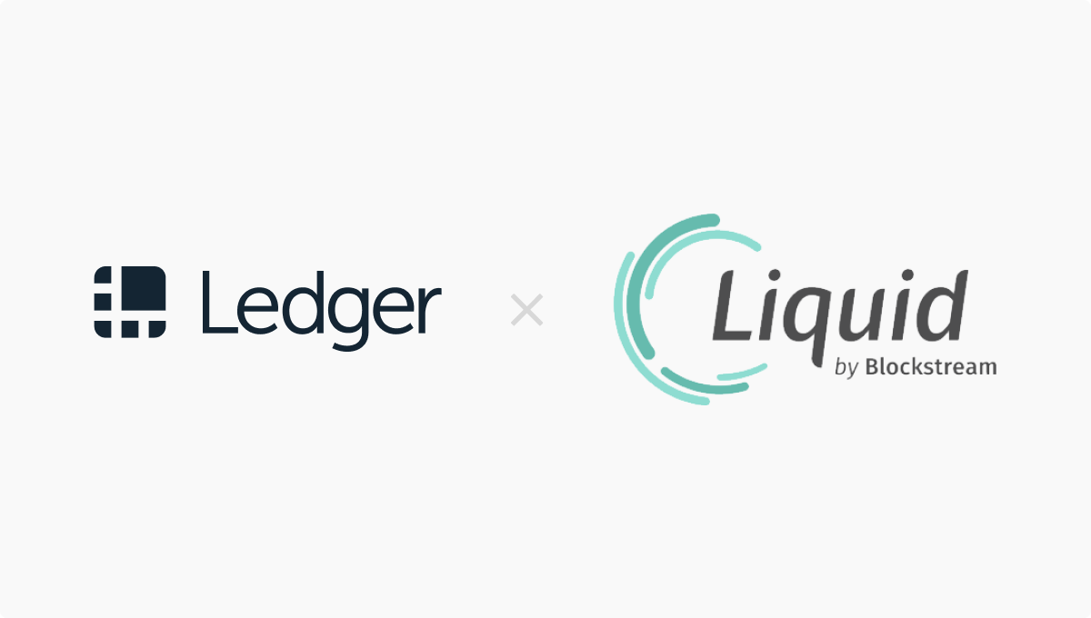 Ledger Joins the Liquid Network and Builds on Growing Cryptofinance Infrastructure