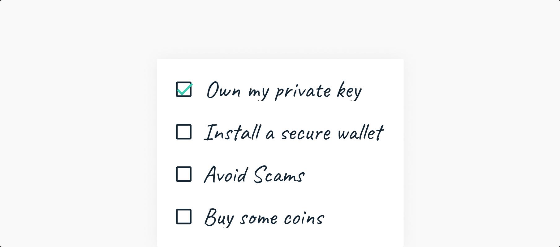 keep your crypto safe