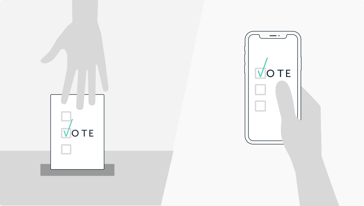 What if 2020 U.S. Presidential Elections Were Held Online?