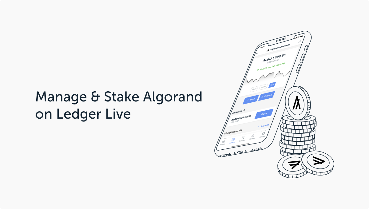 Ledger Adds Algorand Support in Ledger Live, Launches Self-Custody Staking for ALGO