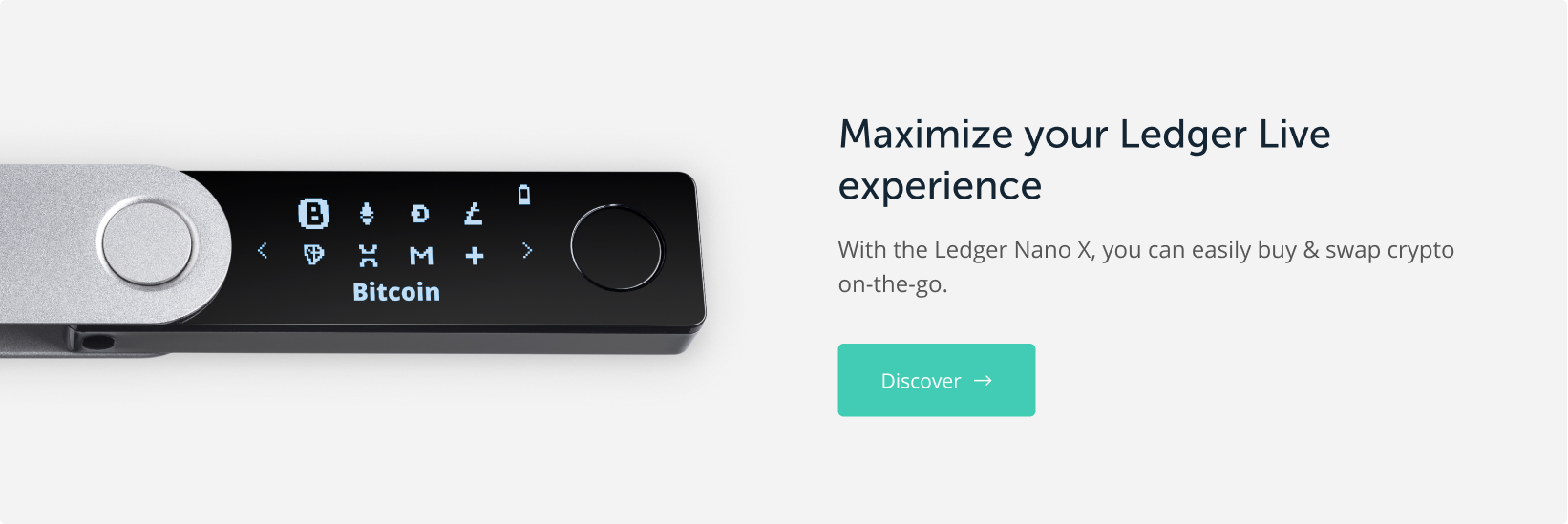 Discover the Ledger Nano X