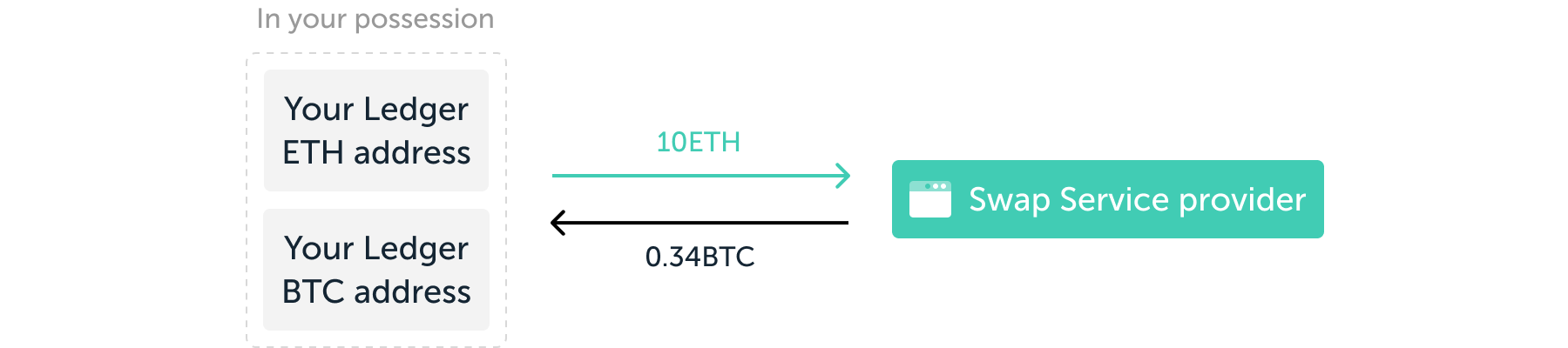 Ledger Swap