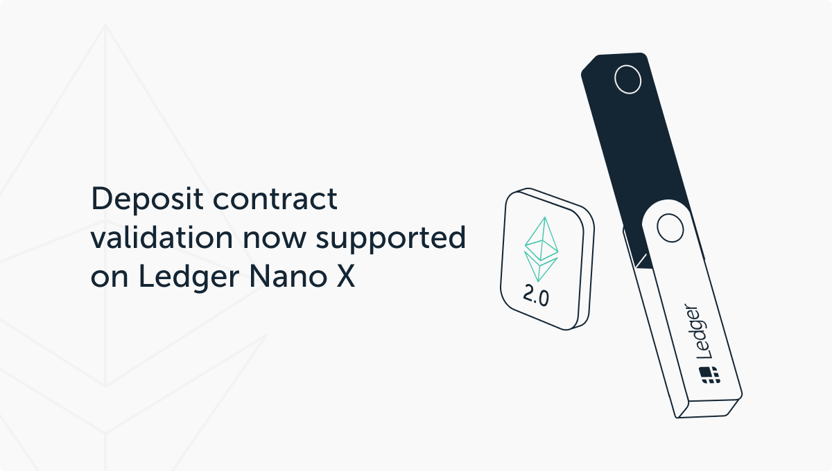 Ledger is ready for the Ethereum 2.0 revolution