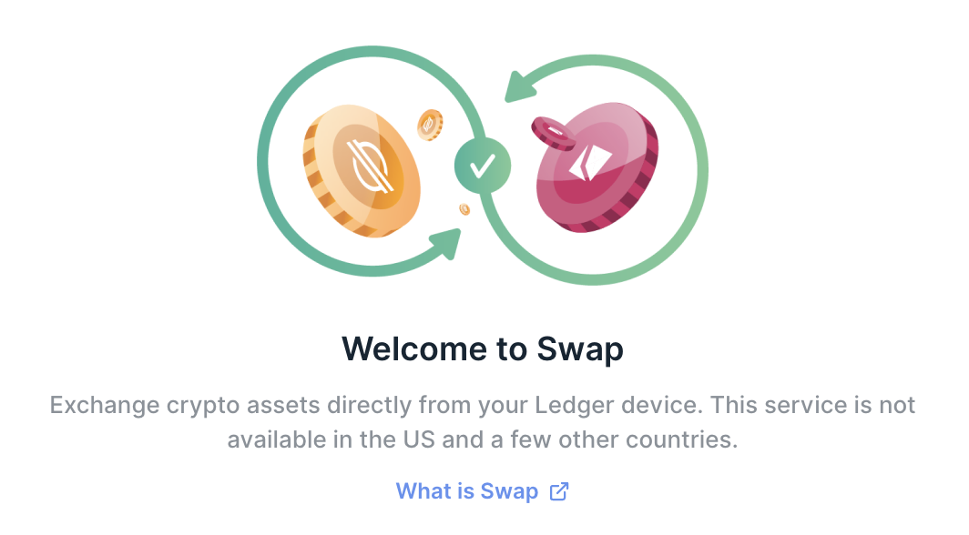 Raising the bar for security with Ledger Swap