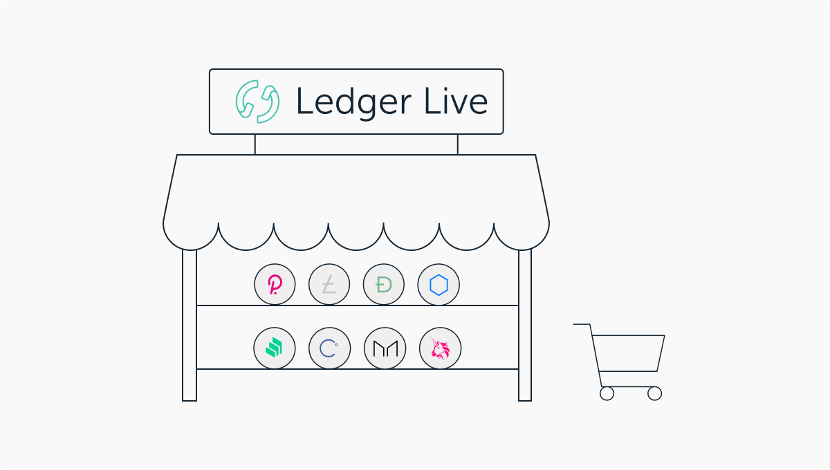 Ledger Live: 8 new coins available for purchase!