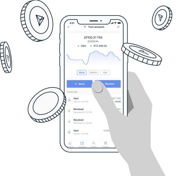 Start growing your Tron