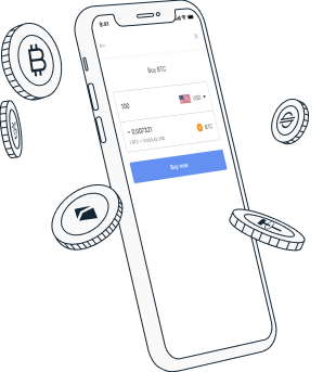 Buy your first crypto or transfer your funds