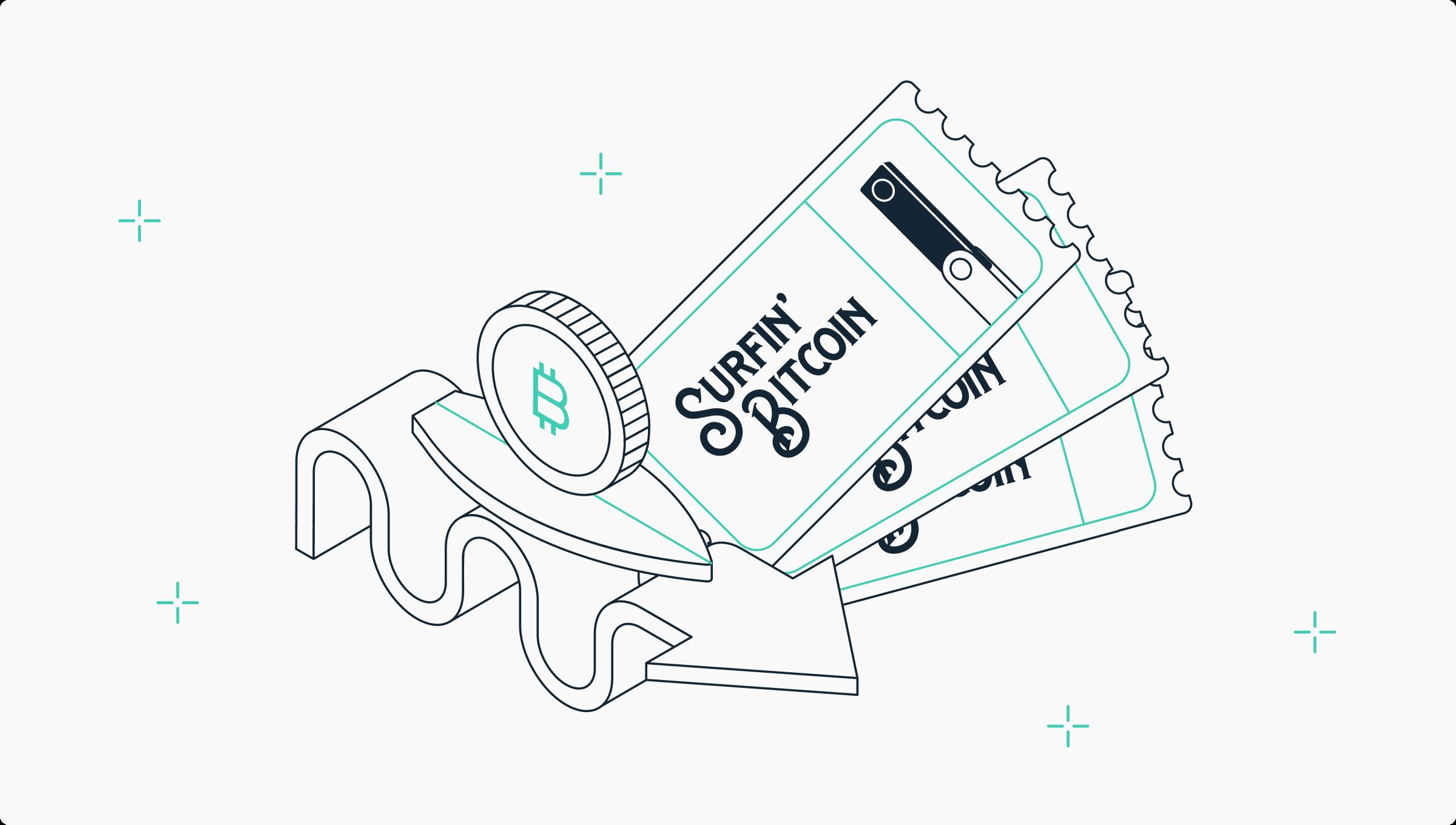 Participez au concours SurfinBitcoin x Ledger et gagnez des tickets pour l'événement Surfin Bitcoin à Biarritz !