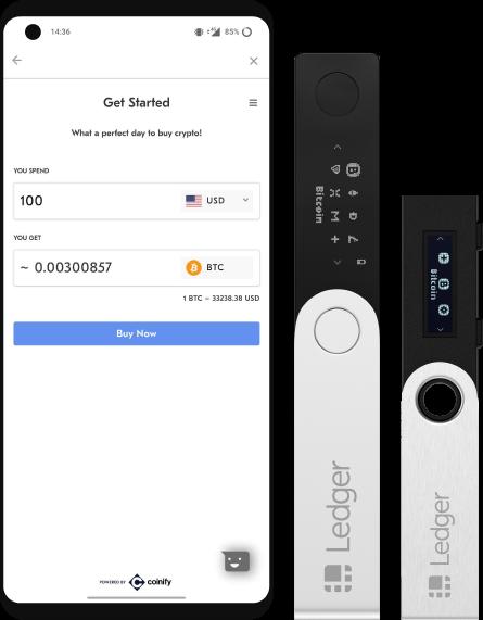 Ledger Wallet nano s beschikbaar